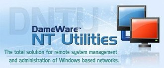 کنترل شبکه Dameware NT Utilities