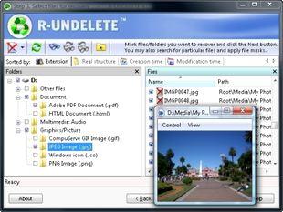 بازیابی فایلها R-Undelete