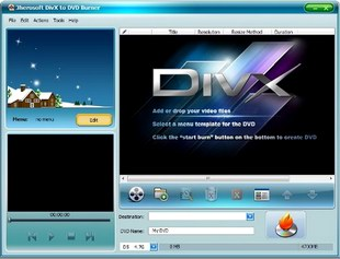 رایت دی وی دی 3herosoft DivX to DVD Burner