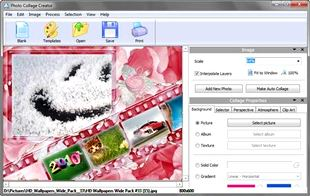 دانلود AMS Software Photo Collage Creator