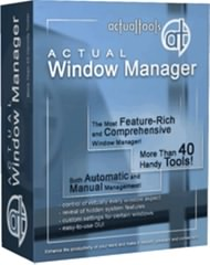 مدیریت پنجره ها Actual Window Manager