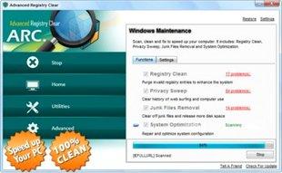 رفع خطای رجیستری Advanced Registry Clear