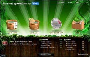 نرمافزار افزایش سرعت سیستم Advanced SystemCare