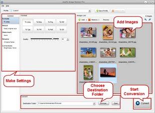 تغییر سایز حجم تصاویر AnyPic Image Resizer Pro