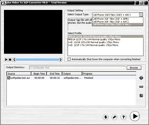 مبدل Aplus Video to 3GP Converter