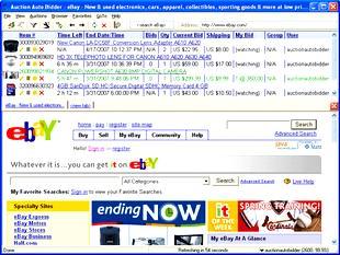 Auction Auto Bidder Professional ebay