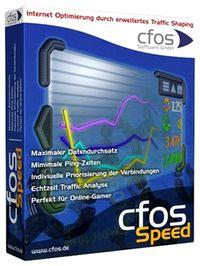 افزایش سرعت اینترنت CFosSpeed