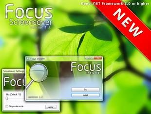 دانلود اسکرین سیور Focus Screensaver