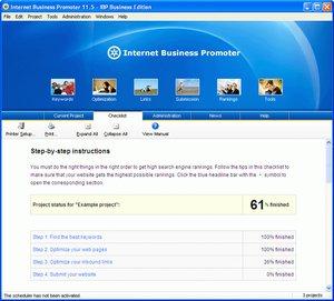 معرفی سایت به موتورهای جستجو Internet Business Promoter
