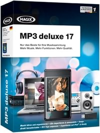 مدیریت فایلهای موسیقی MAGIX MP3 Deluxe