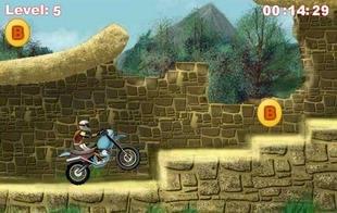 بازی موتور سواری Nuclear Bike
