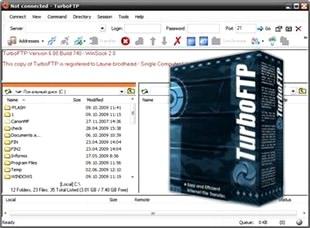 اف تی پی TurboFTP