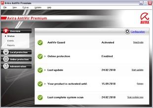 دانلود آنتی Avira AntiVir Premium