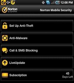 آنتی ویروس موبایل Norton Mobile Security