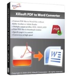 تبدیل فرمت Xilisoft PDF to Word Converter