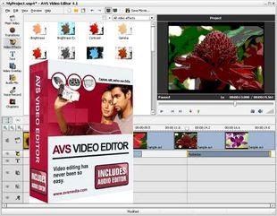 ویرایش فایلهای ویدئویی AVS Video Editor
