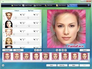 ترکیب عکس چهره صورت Abrosoft FaceMixer