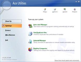بهینه سازی سیستم Ace Utilities