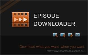دانلود قسمتهای فیلم و سریال Apowersoft Episode Downloader Deluxe