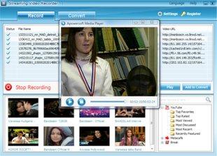 ضبط تلویزیونهای اینترنتی Apowersoft Streaming Video Recorder