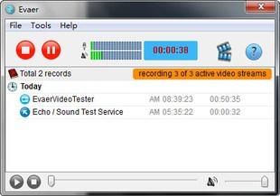 ضبط چت مسنجر اسکایپ Evaer Video Recorder for Skype
