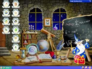 دسکتاپ فانتزی کودکانه Magic Desktop for KIDS