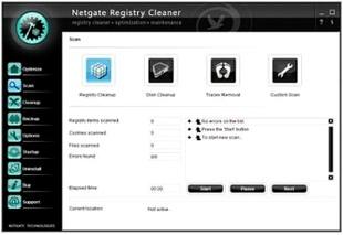 پاکسازی رجیستری NETGATE Registry Cleaner