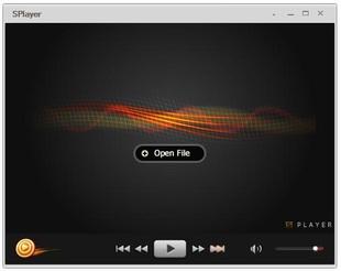پخش کننده ویدئو فایلهای صوتی SPlayer
