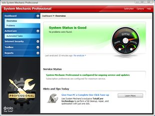 بهینه سازی افزایش امنیت سرعت ویندوز System Mechanic Professional