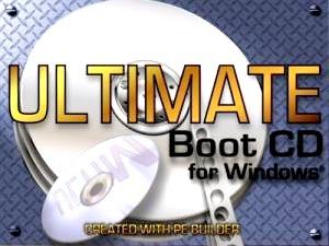 سی دی بوت ریکاوری Ultimate Boot CD