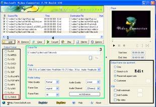 تبدیل کننده فرمتهای ویدئویی Boilsoft Video Converter