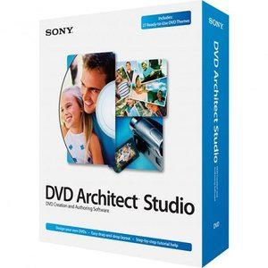ساخت دی وی دی فیلم Sony DVD Architect Studio