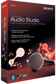 ویرایش صدا Sony Sound Forge Audio Studio