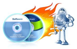 نصب خودکار ویندوز Almeza MultiSet Professional
