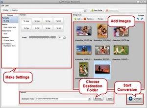 تغییر سایز فرمت تصاویر عکسها AnyPic Image Resizer Pro