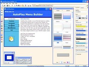 ساخت اتوران AutoPlay Menu Builder