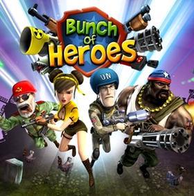 بازی کم حجم Bunch of Heroes