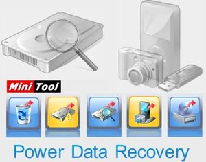 بازیابی بازگرداندن فایلهای پاک شده MiniTool Power Data Recovery