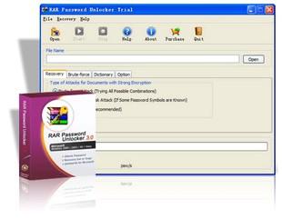 RAR Password Unlocker بازیابی پسورد فایلهای rar