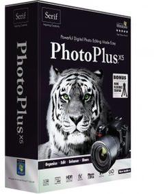 ویرایش عکسها تصاویر Serif PhotoPlus X5