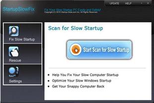 StartupSlowFix مدیریت برنامه های startup
