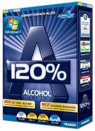 Alcohol 120 رایت کپی سی دی قفلدار