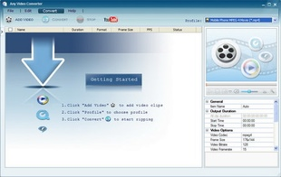 تبدیل فرمتهای ویدئویی Any Video Converter Professional