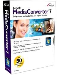 مبدل, تبدیل کننده فرمتها Arcsoft MediaConverter