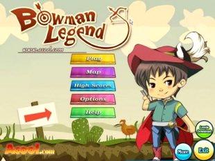بازی افسانه کماندار Bowman Legend