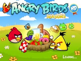 بازی پرندگان خشمگین Angry Birds Seasons