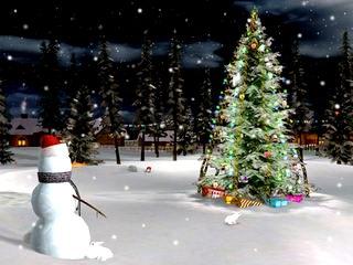 اسکرین سیور کریسمس Christmas Screensaver