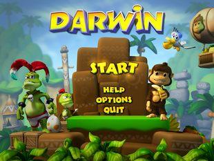 بازی کم حجم Darwin the Monkey