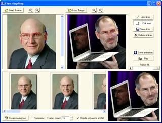 ساخت کلیپ جابجایی چهره FreeMorphing