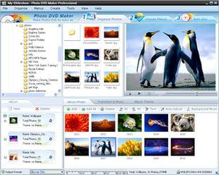 ساخت آلبوم عکس اسلایدشو Photo DVD Maker Pro